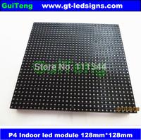 p4 led display module 4mm pixel indoor rgb full color led display screen 1/16 scan 128*128mm 32*32 pixel p4 full color module