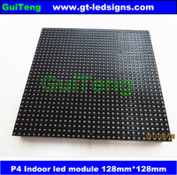 p4 led display module 4mm pixel indoor rgb full color led display screen 1/16 scan 128*128mm 32*32 pixel p4 full color module