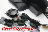 sibyl merchants ,new arrive large size glass sunglasses 3025  with box, classical retro wayfarer sunglass2140 4105 3016 G15 len