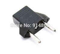 50pcs /lots Travel Charger Wall AC Power Plug Adapter Converter US USA to EU Europe EURO