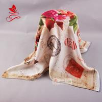Quality silk heavy silk scarf mulberry silk small scarf facecloth matt luxury women's small silk scarf