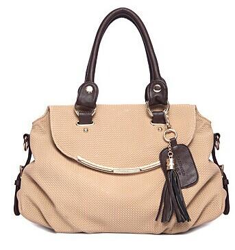Bags 2014 women's handbag fashion tassel bag one shoulder bag for women messenger bag(China (Mainland))