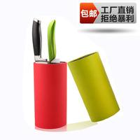 Novelty knife block tool holder fashion multi-purpose knife tube kitchen supplies knife rack