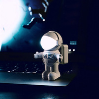 New USB Night Light ,Creative astronaut LED nightlight,Space Astronaut USB Night Light, led night light lamp