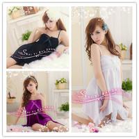 [SNY-040]Black temptations club dress uniform, lingerie and sexy lingerie sleepwear nightgown