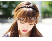 wholesale black plastic headband