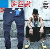 On Sale 2014 Shampooers Slim Clot Men Cloth Sport Trousers Men's Pants Casual Pants Plus Size M - XXL Bboy HOT