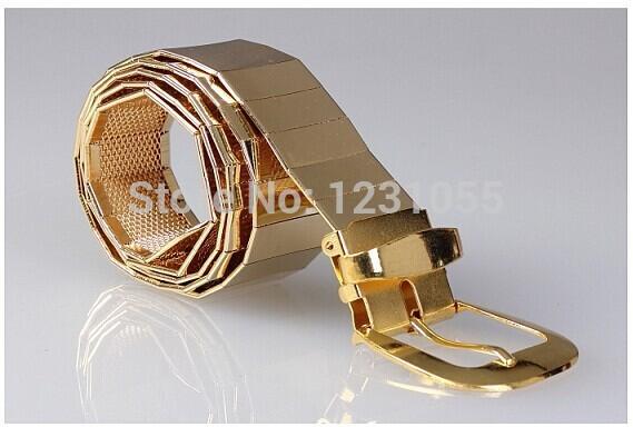 COOL! New Arrival 2014 Men Famous Designer metal Belt Man Strap man/women Cinto Ceinture,belts for men/women(China (Mainland))