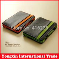 2014 South Korea magic wallet New Mens MAGIC MONEY clips for men purse four colors size 10cm*7cm*0.8cm