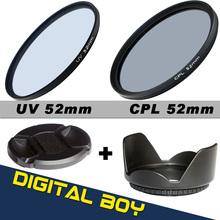 52mm polarizing filter promotion