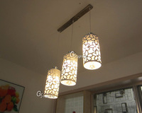 2014 New Style LED Dining Lamp CE 3years Warranty with LED Bulb 5W*3pcs for Dining room living room Ceiling Light Free Shipping