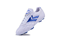 free Shipping  good skin Falcon Crescent bottom plastic nail soccer shoes football shoes