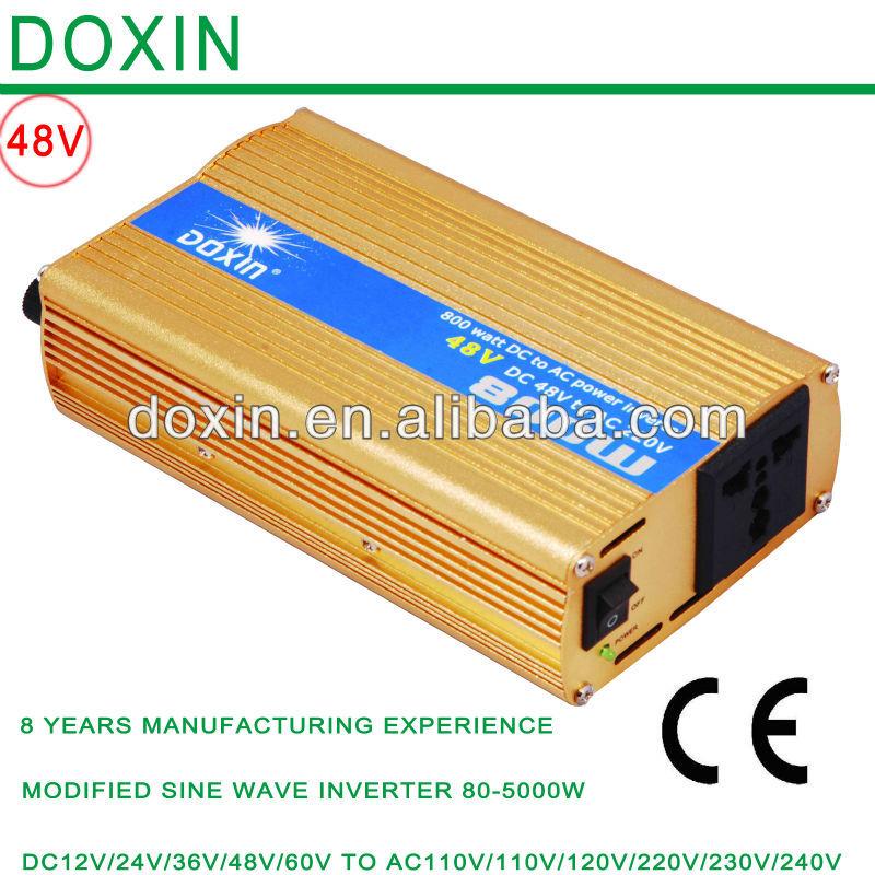 800watt dc to ac 48v 220v/110v power inverter single phase converter(China (Mainland))