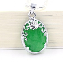 cheap green jade pendant