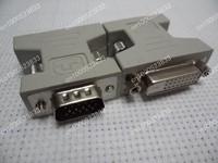 DVI female to VGA male adapter DVI-D dual link 24+1