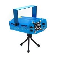 4 Button Mini Laser Stage Lighting RG Auto Strobe 150mW Laser Star Stage DJ Disco Party Lighting with Mini Tripod