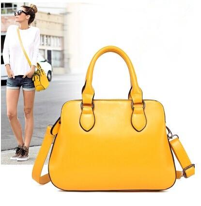 2014 New women fashion High quality handbag PU leather messenger bags cross-body one shoulder bag totes RJ385(China (Mainland))