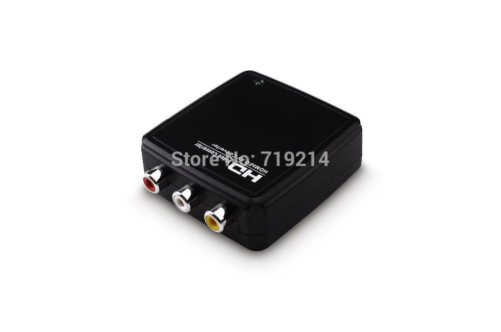 Компьютерные аксессуары Flykan HDMI HDTV 1080 p AV RCA + NTSC /pal HD2R01