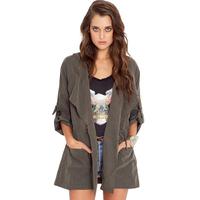 Bat sleeve Temperament Leisure Fashion Retro Trench Coat Free Shipping 2014 Spring New M,L,XL,XXL,XXXL,XXXXL,XXXXXL 7608