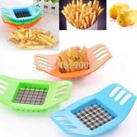 1 Piece Free Shipping 2014 New POTATO CHIPPER Creative Potato bar cutting machine cut fries french fries tool