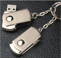 100% Genuine Full Capacity USB Disk1GB - 64GB Stainless Steel USB Flash Drive Metal Pen Drive Memory Card / USB