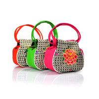 Fashion ethnic embroidery bag candy color women handbag embroidered small cloth bag handbag Wholesale