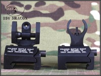 BD Style Battle Sight Set Micro Tritium /BK front and rear sight free shipping