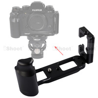 Metal L-shaped Vertical Shoot Quick Release Plate/Camera Holder Bracket Grip case for Fujifilm Fuji X-T1 Tripod Ball Head