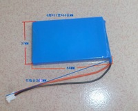 3.7v lithium battery mp4 mp3 decoder board battery insert card speaker lithium battery 1500ma battery diy parts