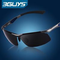 Brand Polarized Sunglasses Men Sun Glasses Fashion male sunglasses night vision female aluminium magnesium sun glasses