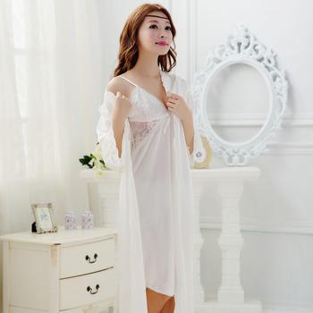 woman's pajamas sexy Кружево sleepwear female summer bathrobe female robe female ...