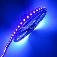 16.4ft 5M UV Ultraviolet 395nm 3528 SMD Purple 600 LED Flex Strip Light NP 12V