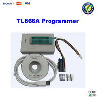 Free ship! MiniPro HighSpeed USB eeprom TL866A programmer device with ICSP interface cable and adapters