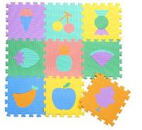 Free shipping freindly enviroment eva baby mat 5pcs/lot ,30*30cm palying eva mat floor mats