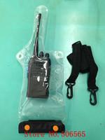 high quality waterproof bag case for kenwood ,baofeng ,woxun,quansheng etc.walkie talkie  two way radio freeshipping