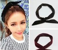 Hair accessory hair bands hair accessory rabbit ears bow pleuche hair bands sports headband yoga belt