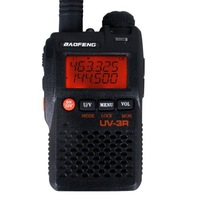 Two Way Radio BAOFENG UV-3R Professional FM Transceiver Dual Band free shipping