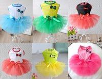 Fashion Puppy Pet Dog TUTU Dress, Wedding Clothing, Wedding Veil Free Shipping