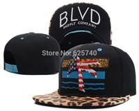BLVD snapback fashion hip hop hat baseball caps men women snap back adjustable hiphop