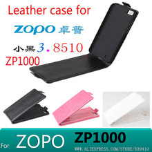 1pcs 2014 New Luxury Flip Genuine Real Leather Case Cover original zopo zp1000 ultra mtk6592 octa core Mobile Phone Bag