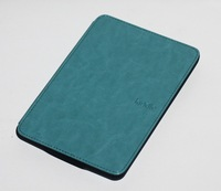 New Brand Solid Color Flip PU Leather Case For Amazon Kindle Paperwhite Case Cover Free Shipping