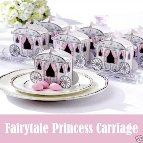 Hot Sale Cinderella Enchanted Carriage Marriage Box !!! Free Shipping 50pcs Wedding Favor Boxes Gift box Candy box(China (Mainland))