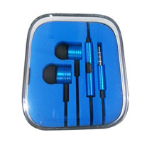 1pcs XIAOMI Piston II Earphone Headphone with Remote Mic For XIAOMI MI2 MI2S MI2A Mi1S M1 Phones earphone for iphone
