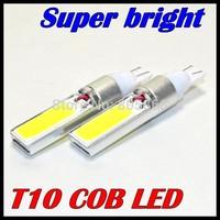 2pcs T10 W16W T10 W5W led 920 921 White led cob t10 10W COB LED Interior Fog Brake Parking backup Bulb Light Lamp