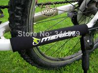 2pcs X New Cycling Bike Bicycle Chain Stay Protector Nylon Pad Merida Logo Black