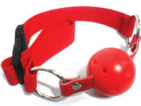 Red Slave Mouth Gag Nylon Sex Products For Couples Sex Toys Mouth Stuffed Erotic Toys