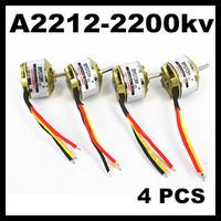 4 pcs Mystery A2212-6 2200KV Brushless Outrunner motor for 300g-1000g 3D Flight   for quadcopter