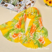 Silk Scarf!! 2014 NEW Spring Silk scarf !! Fashion Women Scarf 160*50CM,Your Best Choice !(23)