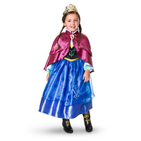 cute Princess Dresses with Embroidery Pattern Party Cosplay Costume Fancy Dress include Dress and Cloak