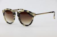 Men Women Sunglasses HARVEST1101406 White tortoiseshell Elegant Cute Plate Frame  Cozy